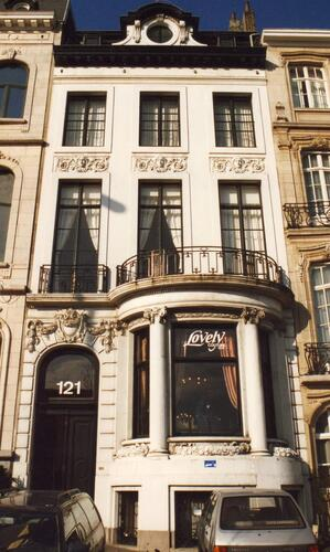 Affichage de la photo : Boulevard Saint-Michel 121 (photo 1994).