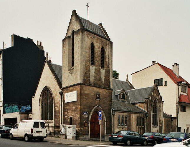 Affichage de la photo : Rue Buchholtz 17, St Andrew�s Church (photo 2005).