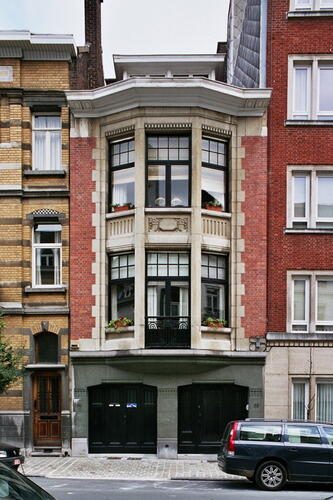 Zoom : Paul Lautersstraat 35-35a (foto 2005).