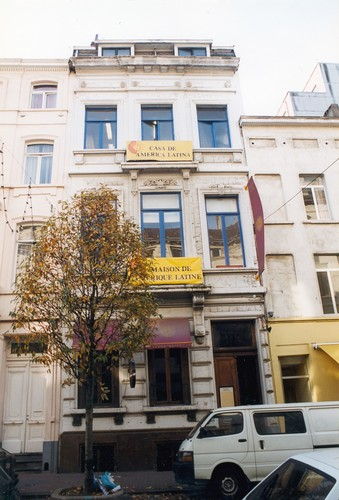 Affichage de la photo : Rue Berckmans 14 (photo 1999).