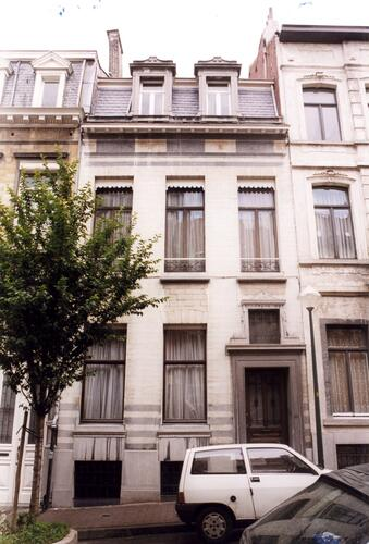Zoom : Bordeauxstraat 50 (foto 1999).