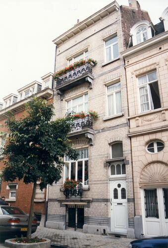 Affichage de la photo : Rue Henri Wafelaerts 61 (photo 1998).