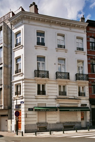 Affichage de la photo : Rue Bosquet 63 et rue Jourdan 67 (photo 2004).