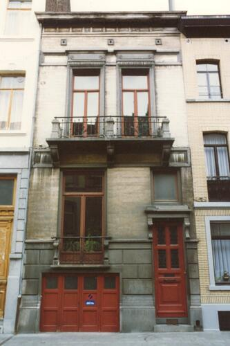 Affichage de la photo : Rue Braemt 114 (photo 1993-1995).