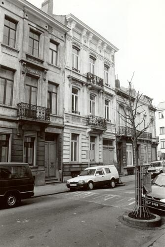 Affichage de la photo : Rue Verboeckhaven, au milieu le no 63 (photo 1993-1995).