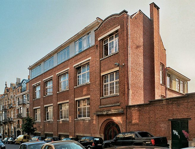 Zoom : Gachardstraat 36, Centre scolaire Saint-Vincent de Paul (foto 2009).