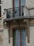 Rue Verbist 129, balcon (photo 2012).