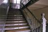 Ecole communale n<sup>o</sup>4, escalier int�rieur (photo 2004).