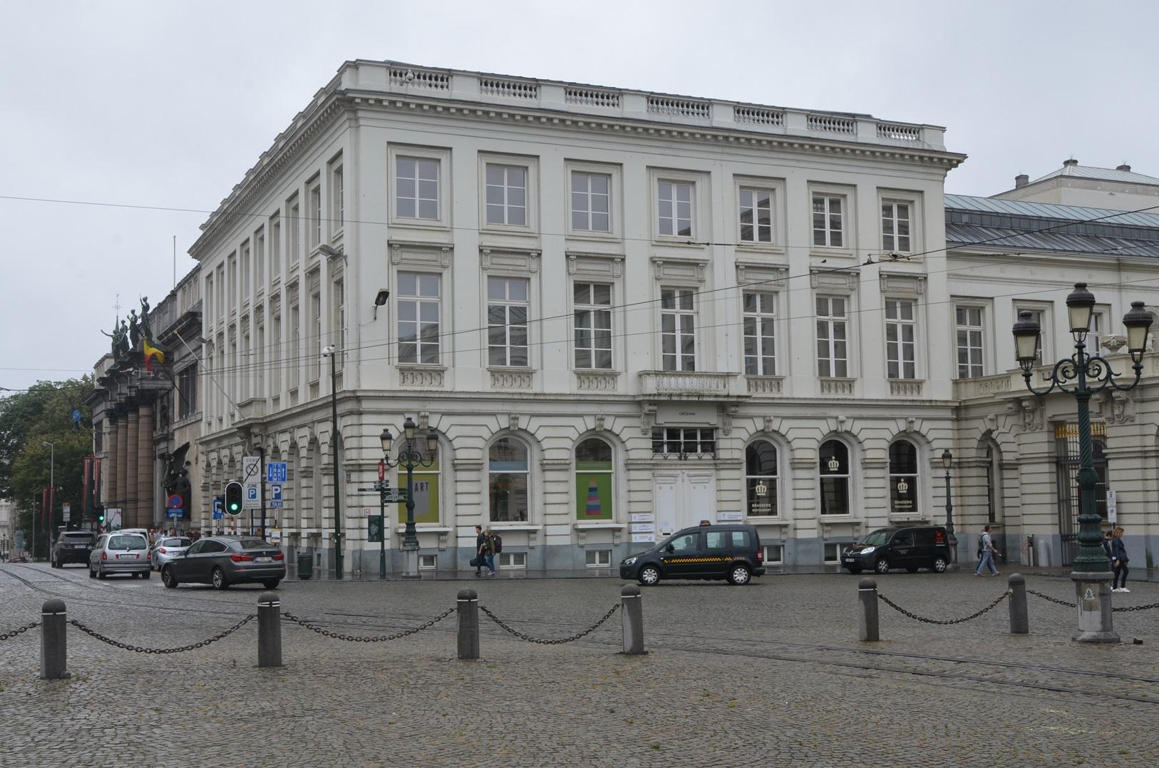Bruxelles pentagone ancien hôtel gresham musée de lart moderne place royale 3 rue de la régence 1 1a guimard barnabé
