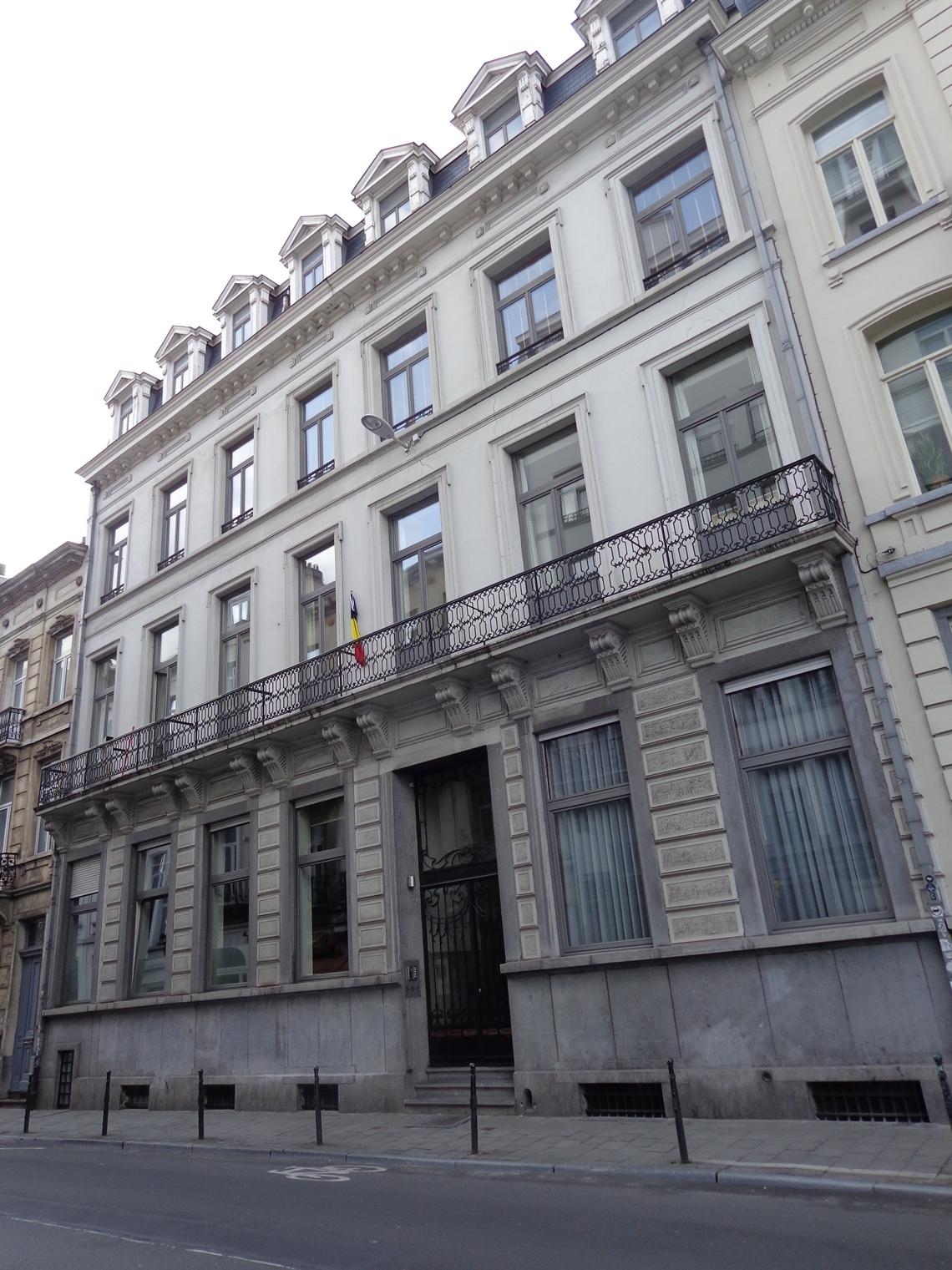 Bruxelles pentagone anciens bureaux du comptoir des - Comptoir des cotonniers avenue louise ...