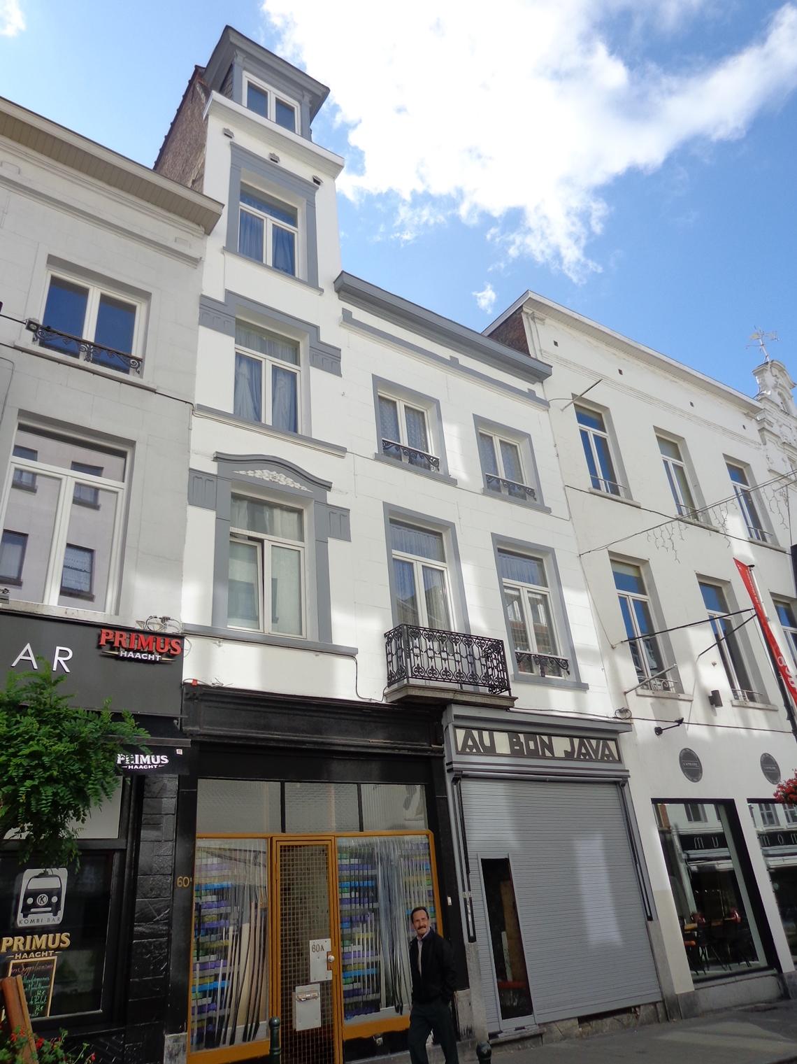 Bruxelles Pentagone Rue Haute 60 60a 62