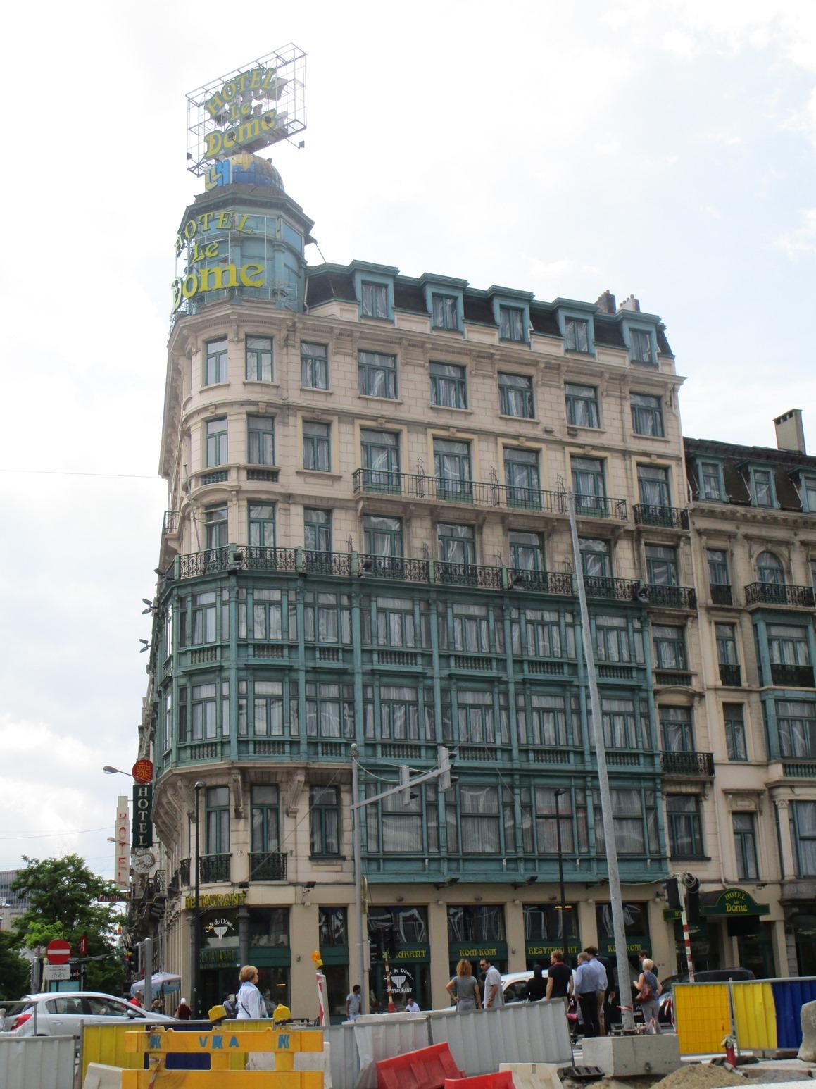 Bruxelles pentagone c cile h tel le d me boulevard for Boulevard jardin botanique