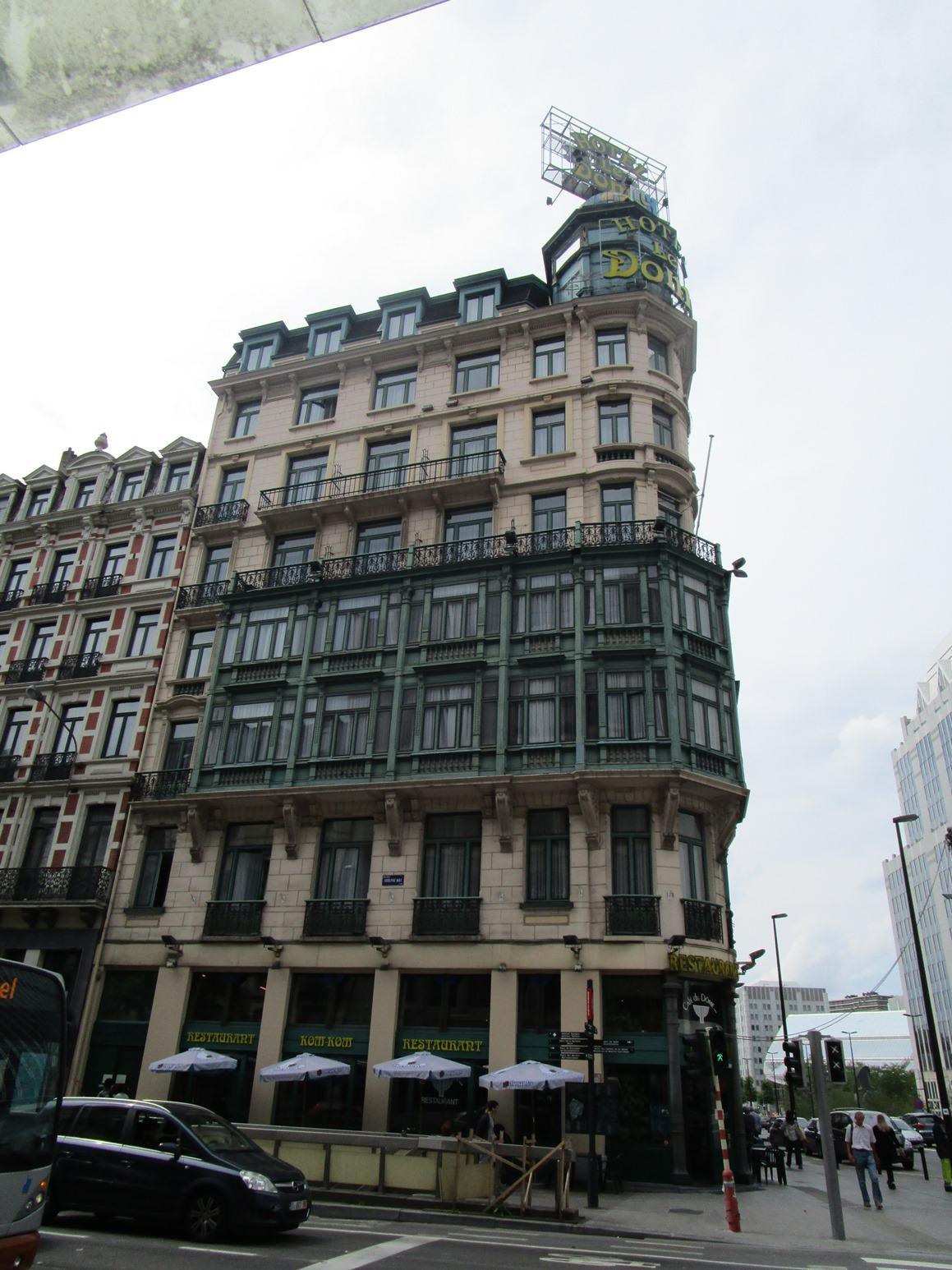 Bruxelles pentagone c cile h tel le d me boulevard for Boulevard du jardin botanique 32
