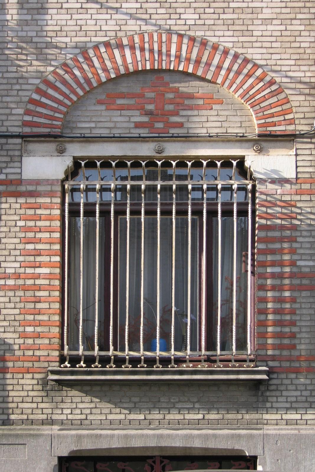 Bruxelles extension est ancien atelier du peintre arthur - Fenetre rez de chaussee ...
