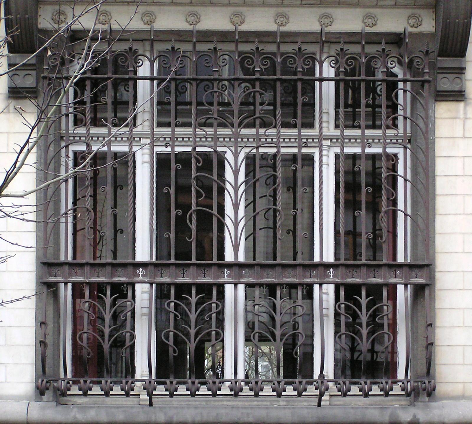 Bruxelles extension est avenue michel ange 77 - Fenetre rez de chaussee ...