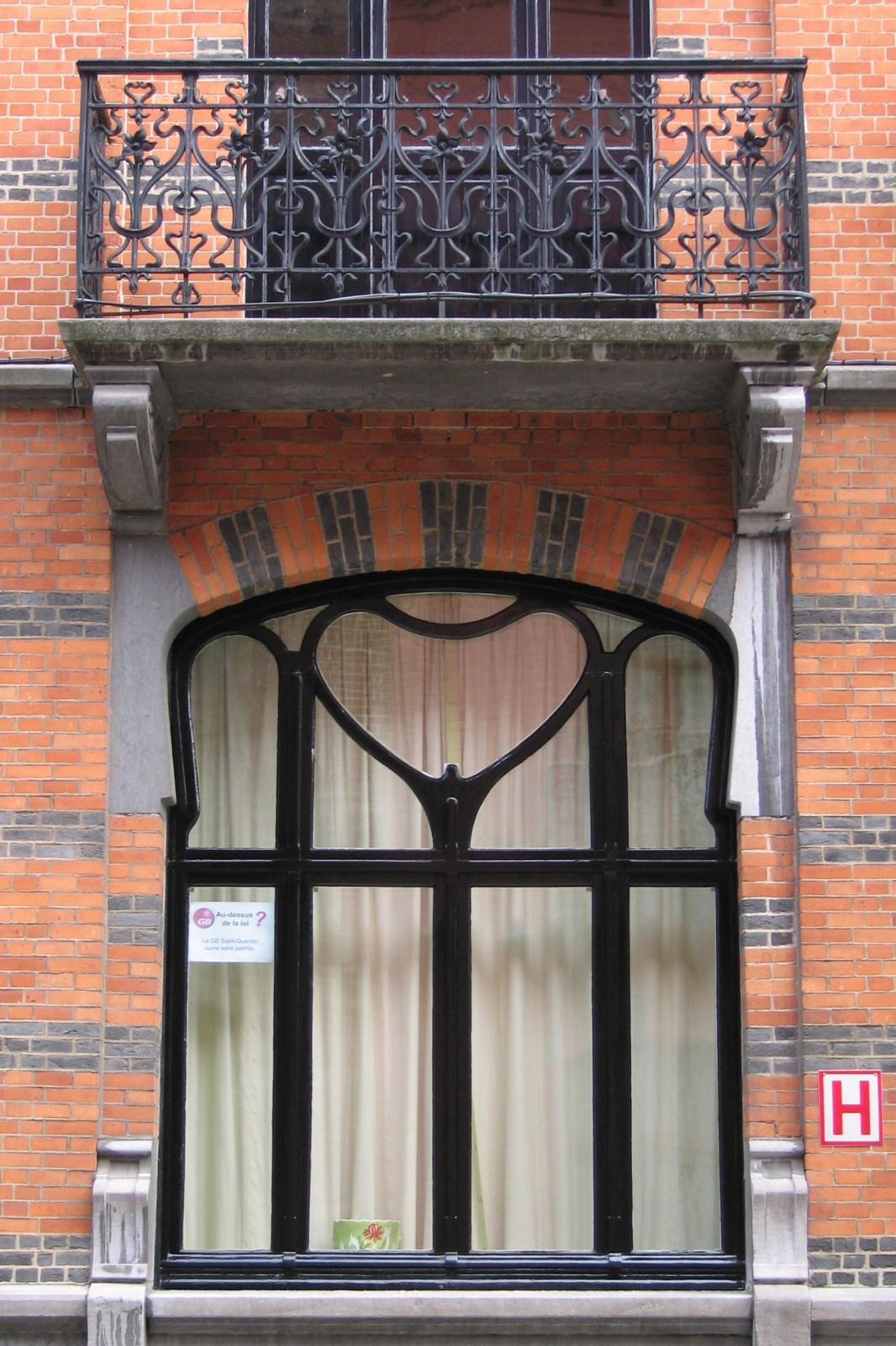 Bruxelles extension est rue saint quentin 49 - Fenetre rez de chaussee ...
