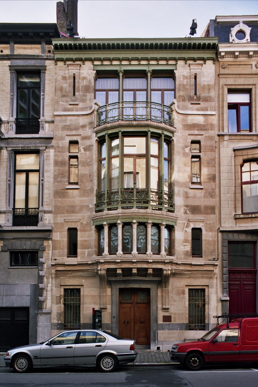 Huis Tassel Gevel foto 2007 Reproductierecht