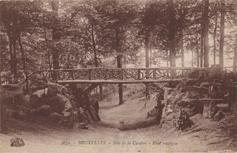 Bruxelles extension sud pont en bois bois de la cambre for Bois de la chambre bruxelles