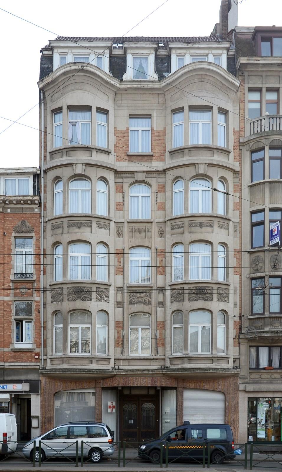 Schaarbeek lambermontlaan 51 teughels j - Deco moderne binnenmuur ...