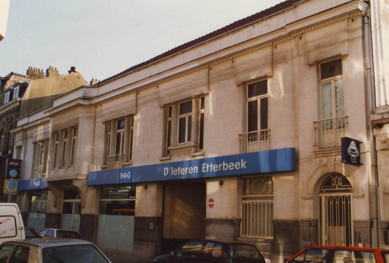 Etterbeek premier garage renault bruxelles rue des for Garage renault creteil avenue general leclerc