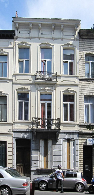 Ixelles rue malibran 73 for Rue joseph dujardin 8 anderlecht