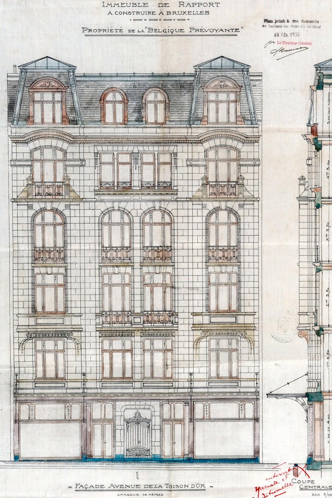 ixelles avenue de la toison d 39 or 16. Black Bedroom Furniture Sets. Home Design Ideas