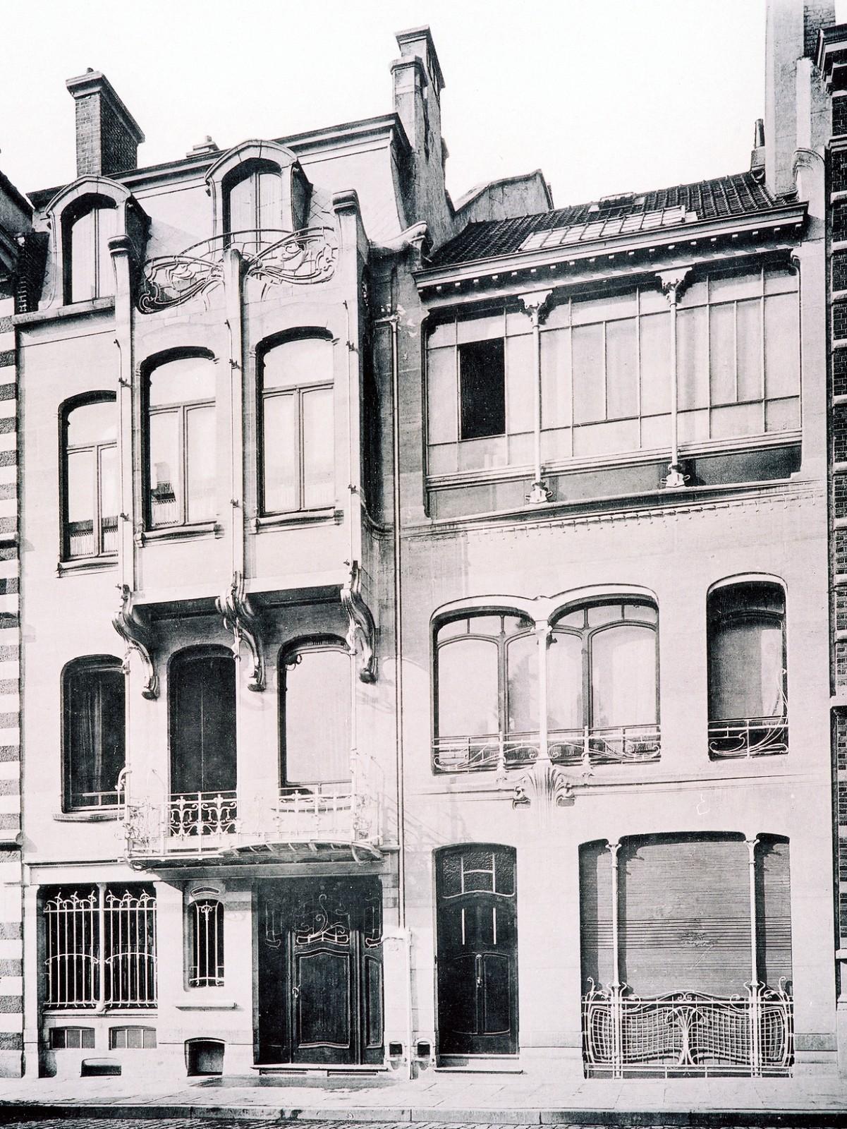 Sint gillis   voormalige woning en atelier van victor horta ...