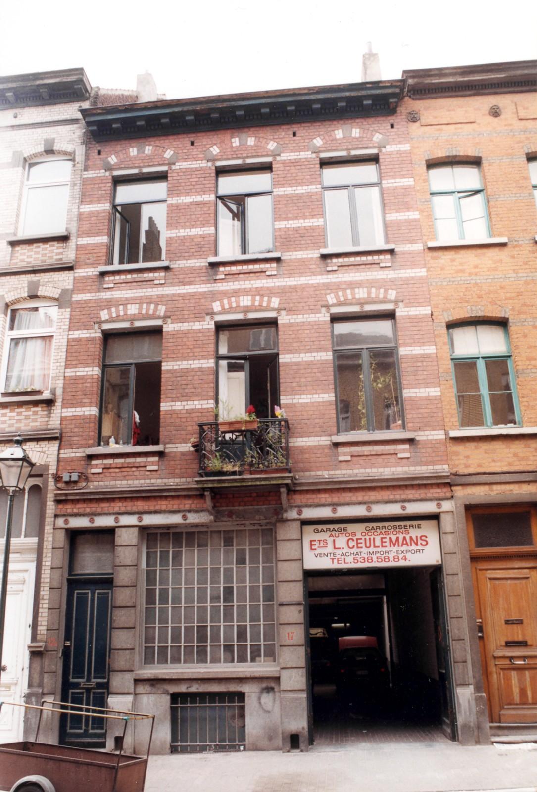 Saint gilles rue de parme 17 17a for Rue de parme