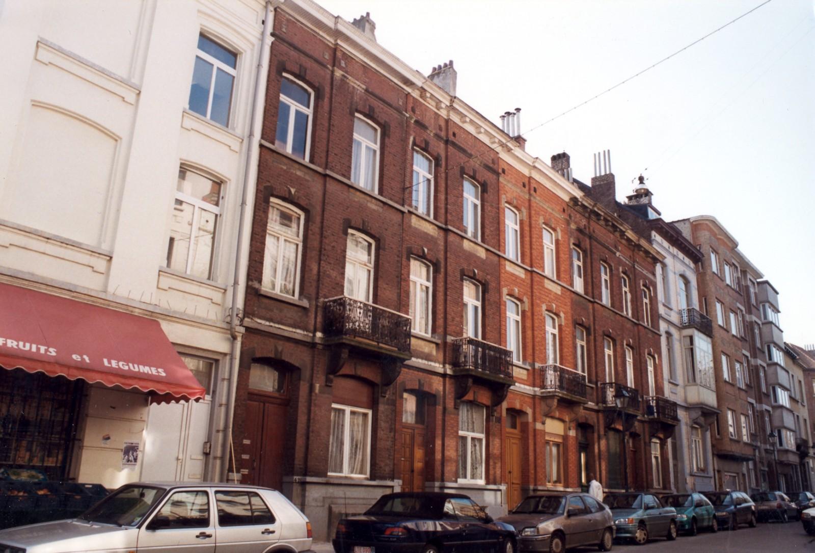 Saint gilles rue de parme 42 44 46 48 50 vuy for Rue de parme