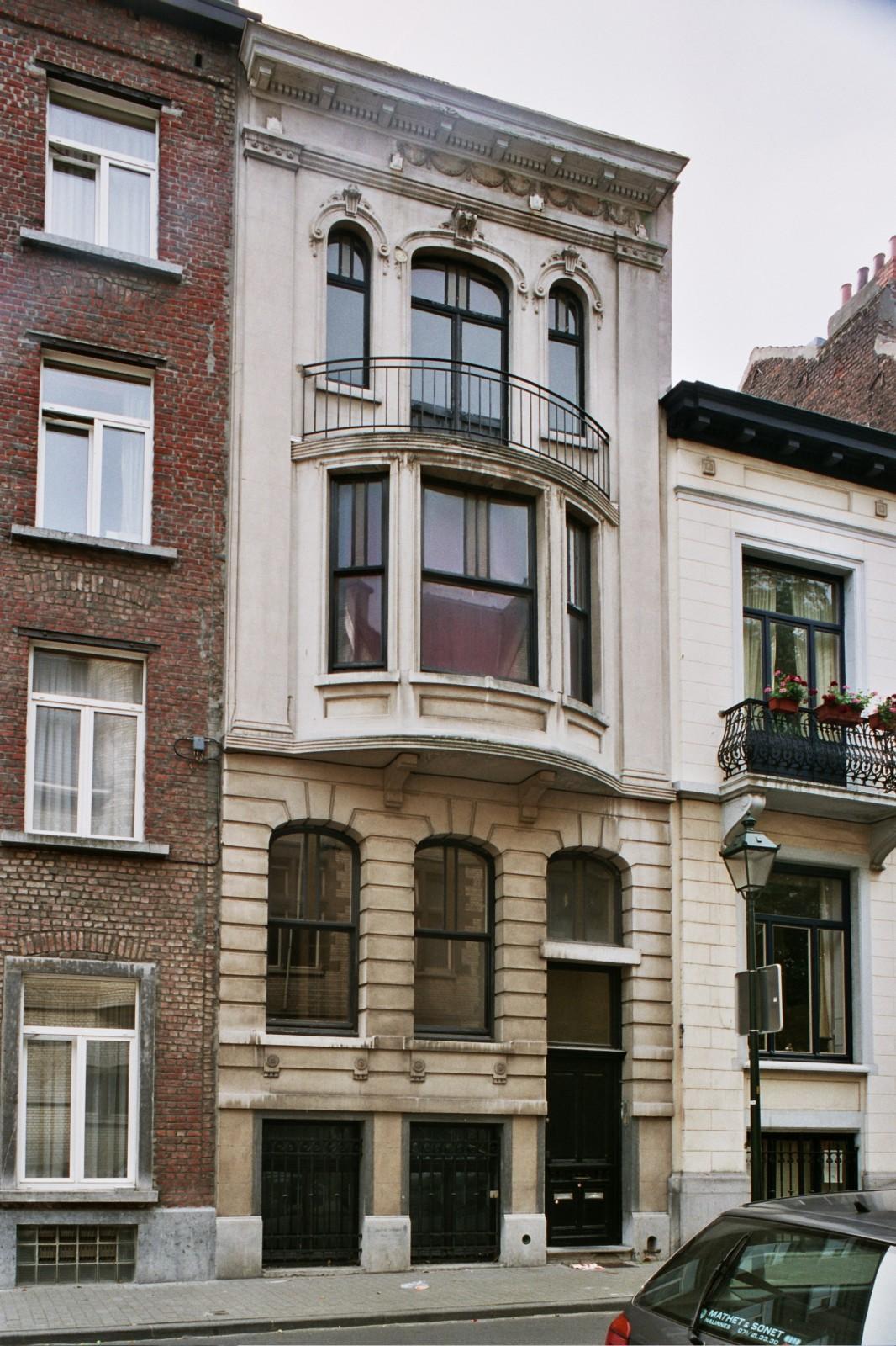 Saint gilles rue de parme 66 costermans joseph for Rue de parme
