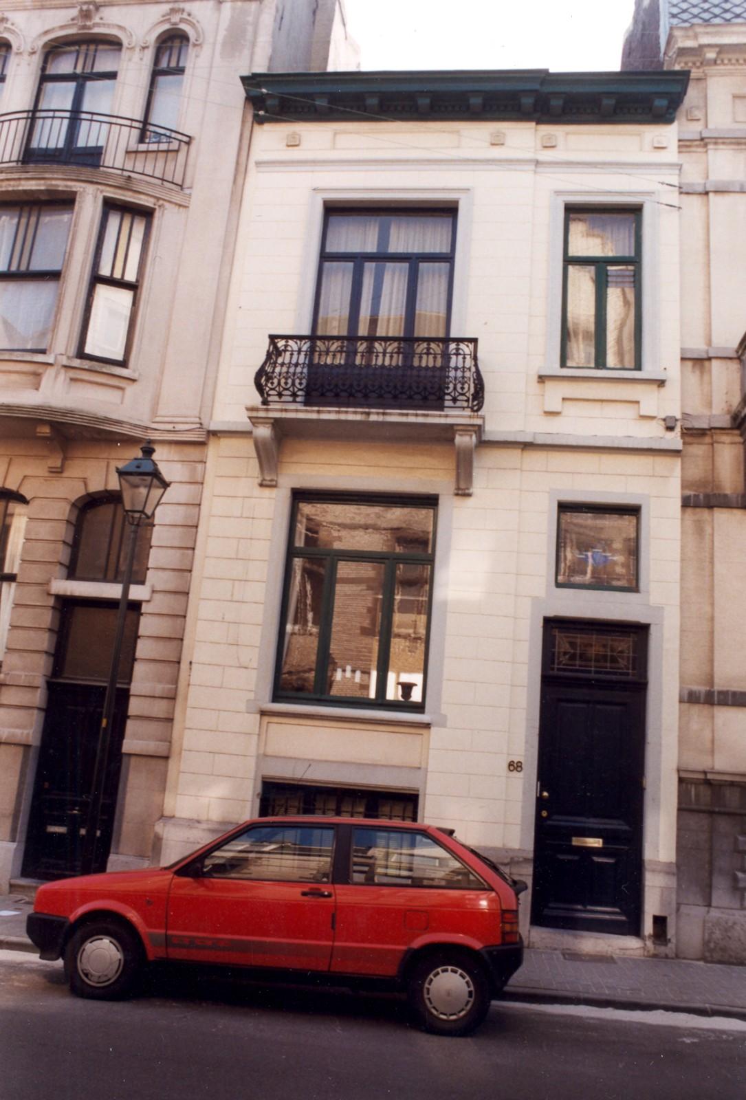 Saint gilles rue de parme 68 for Rue de parme