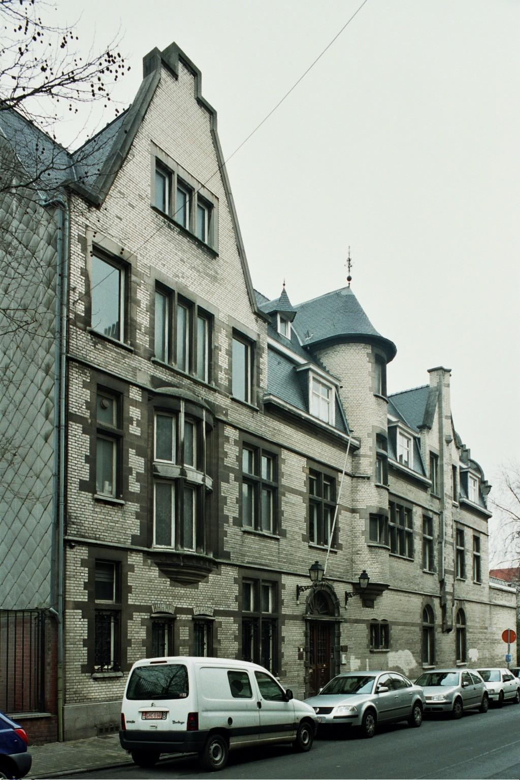 Saint gilles maison pelgrims rue de parme 69 parc for Rue de parme