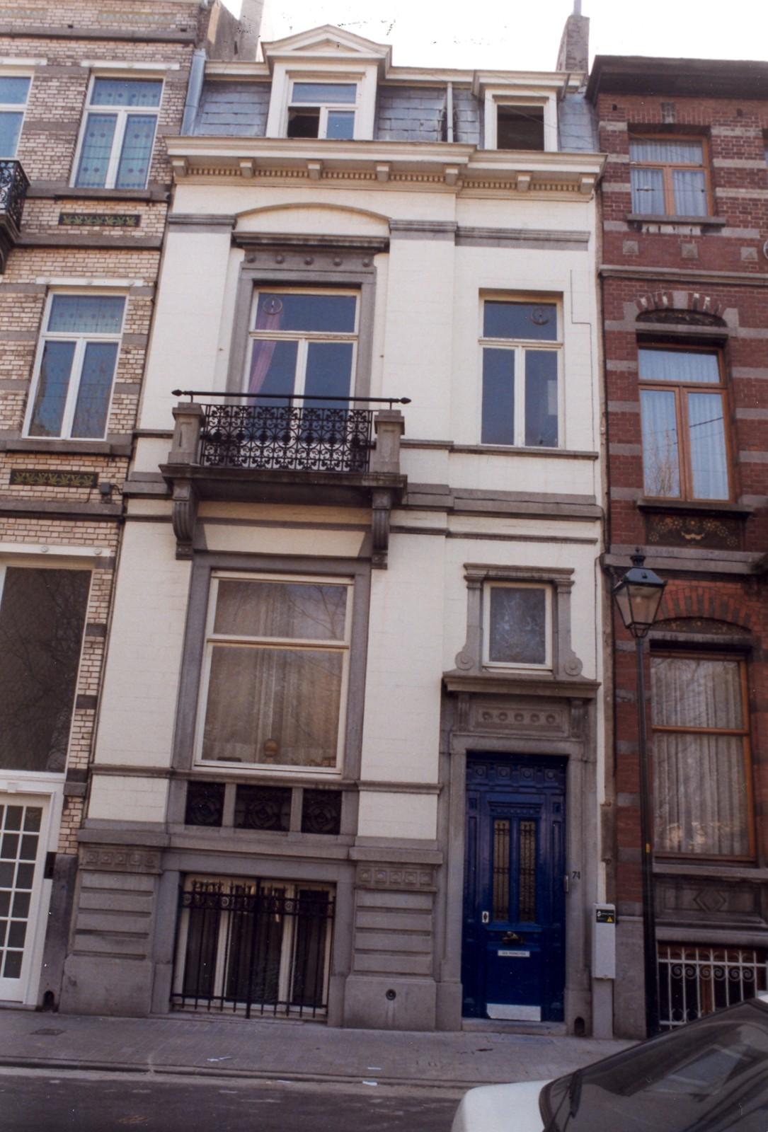 Saint gilles rue de parme 74 for Rue de parme