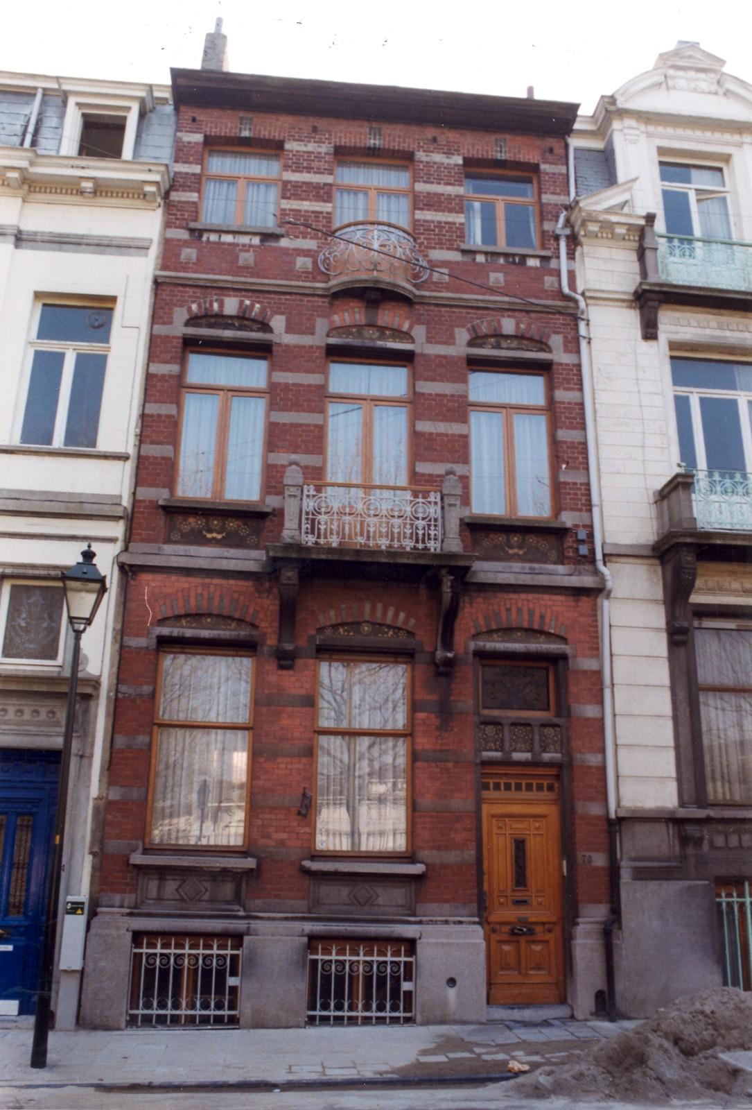 Saint gilles rue de parme 76 de kock hubert for Rue de parme
