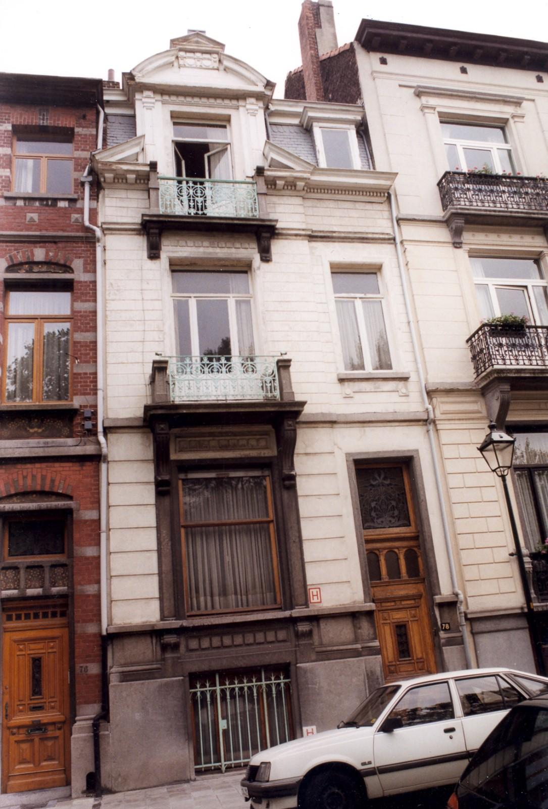 Saint gilles rue de parme 78 for Rue de parme