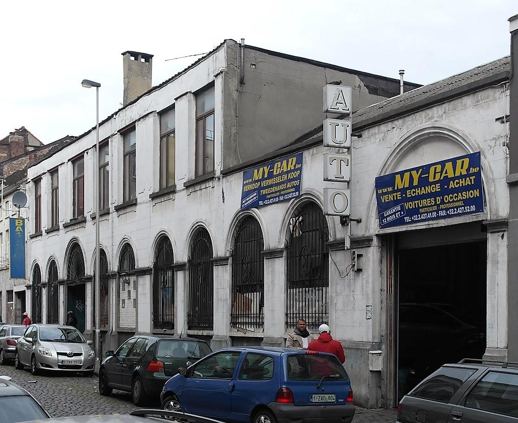 Anderlecht rue des m gissiers 21 23 smets l on for Rue joseph dujardin 8 anderlecht