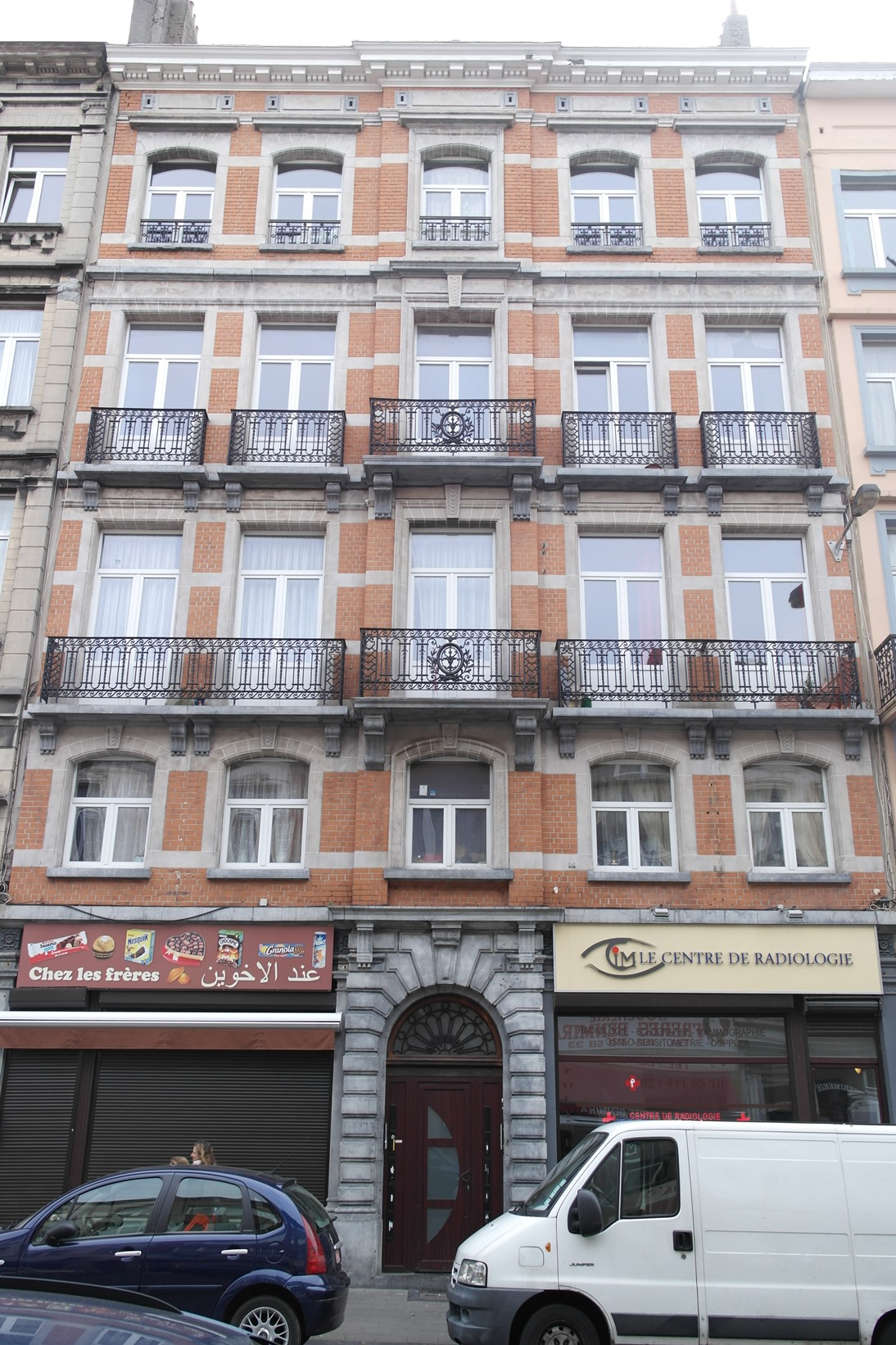 molenbeek saint jean rue du comte de flandre 61 63 65 hano g. Black Bedroom Furniture Sets. Home Design Ideas