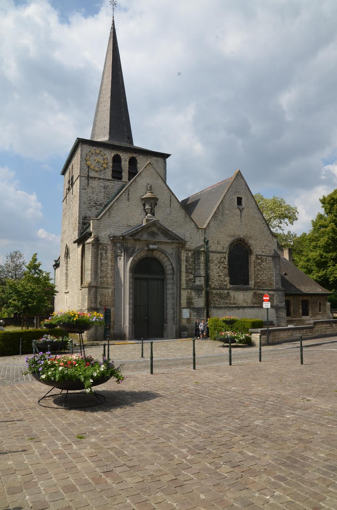 Bruxelles Haren - église Sainte-Elisabeth - Rue de