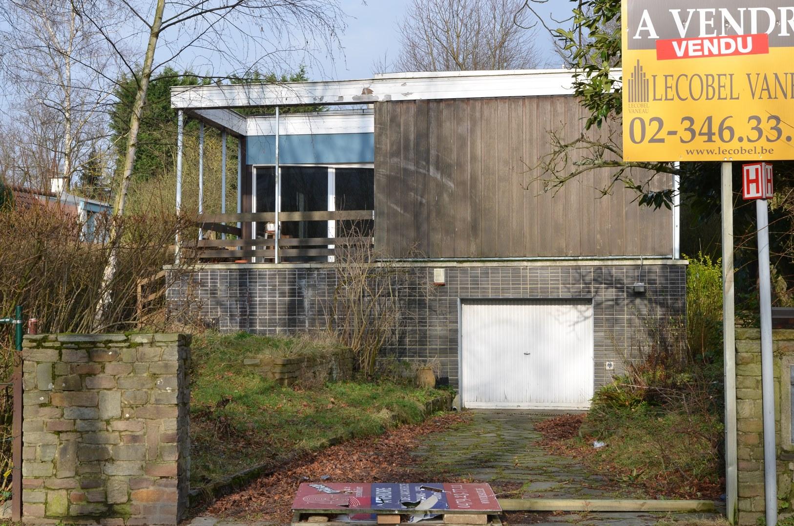 Uccle - Maison personelle de l\\\'architecte Robert Puttemans - Rue ...