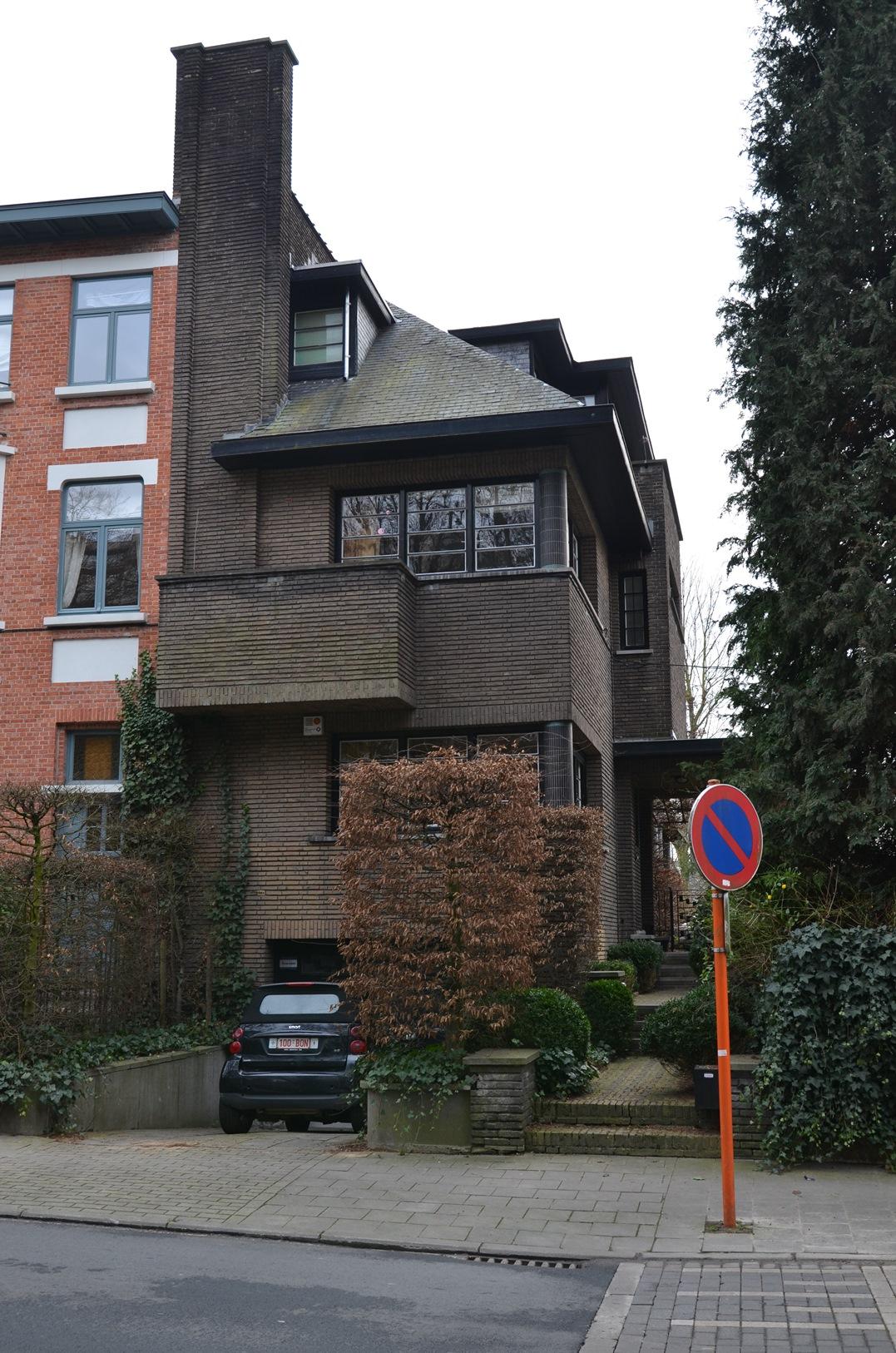 Uccle - Maison De Decker - Avenue Montjoie 118 - SPITTAEL Marcel