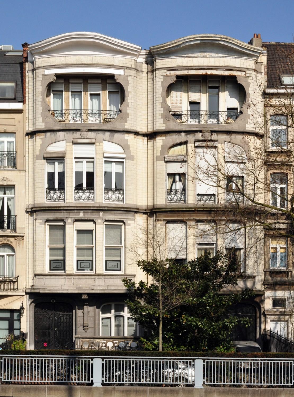 Woluwe saint lambert boulevard brand whitlock 106 108 for 108 boulevard jourdan