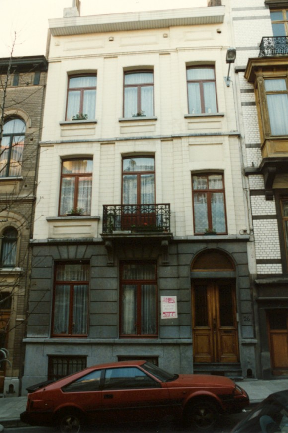 saint josse ten noode rue tiberghien 26. Black Bedroom Furniture Sets. Home Design Ideas