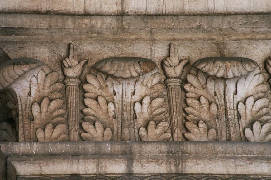Frise de feuilles d 39 acanthe palais de justice place poelaert bruxelles 1862 architecte - Feuille d acanthe ...