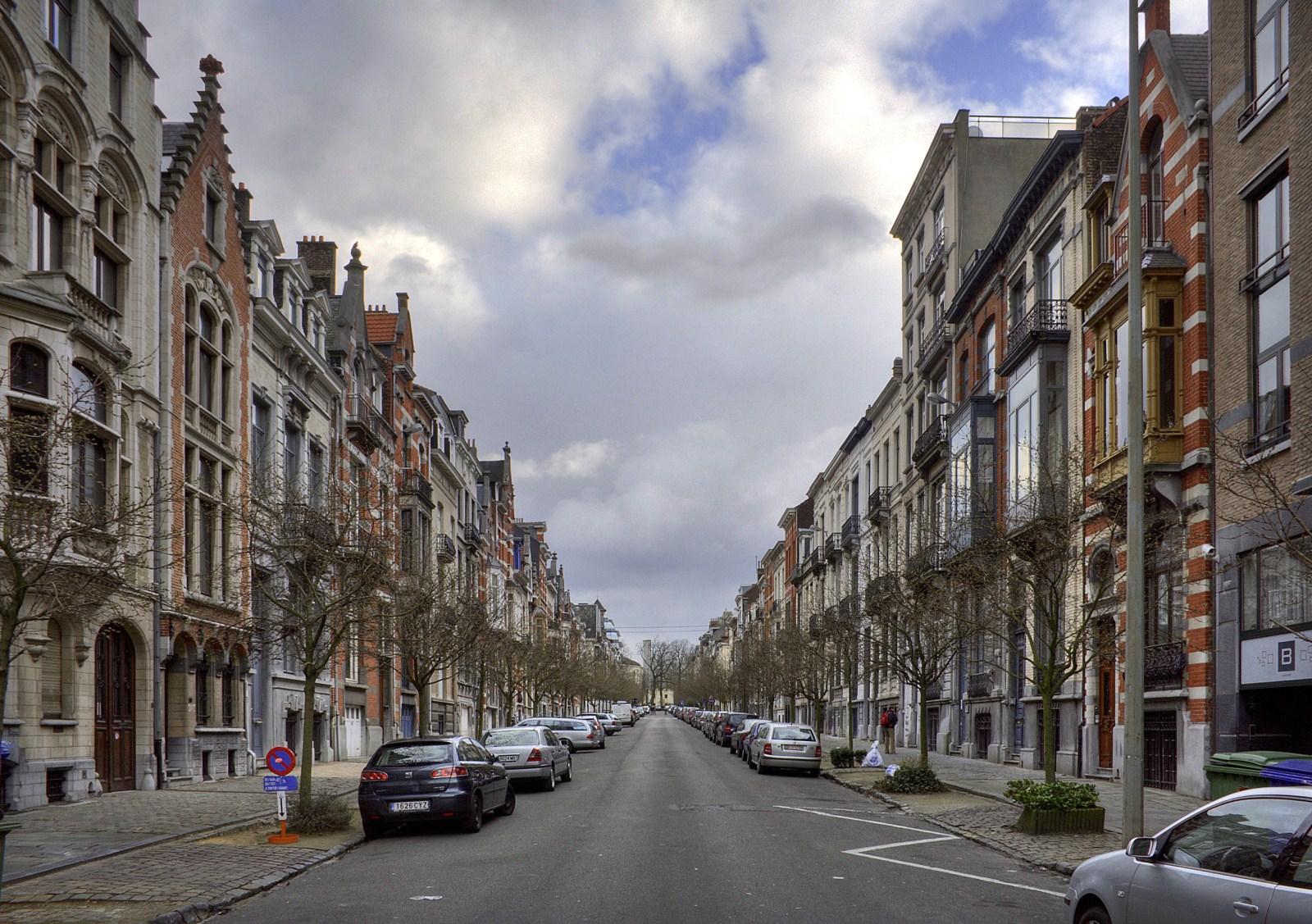 Avenue Michel Ange Vue Depuis Square Ambiorix C V Brunetta M Eberlin 2009