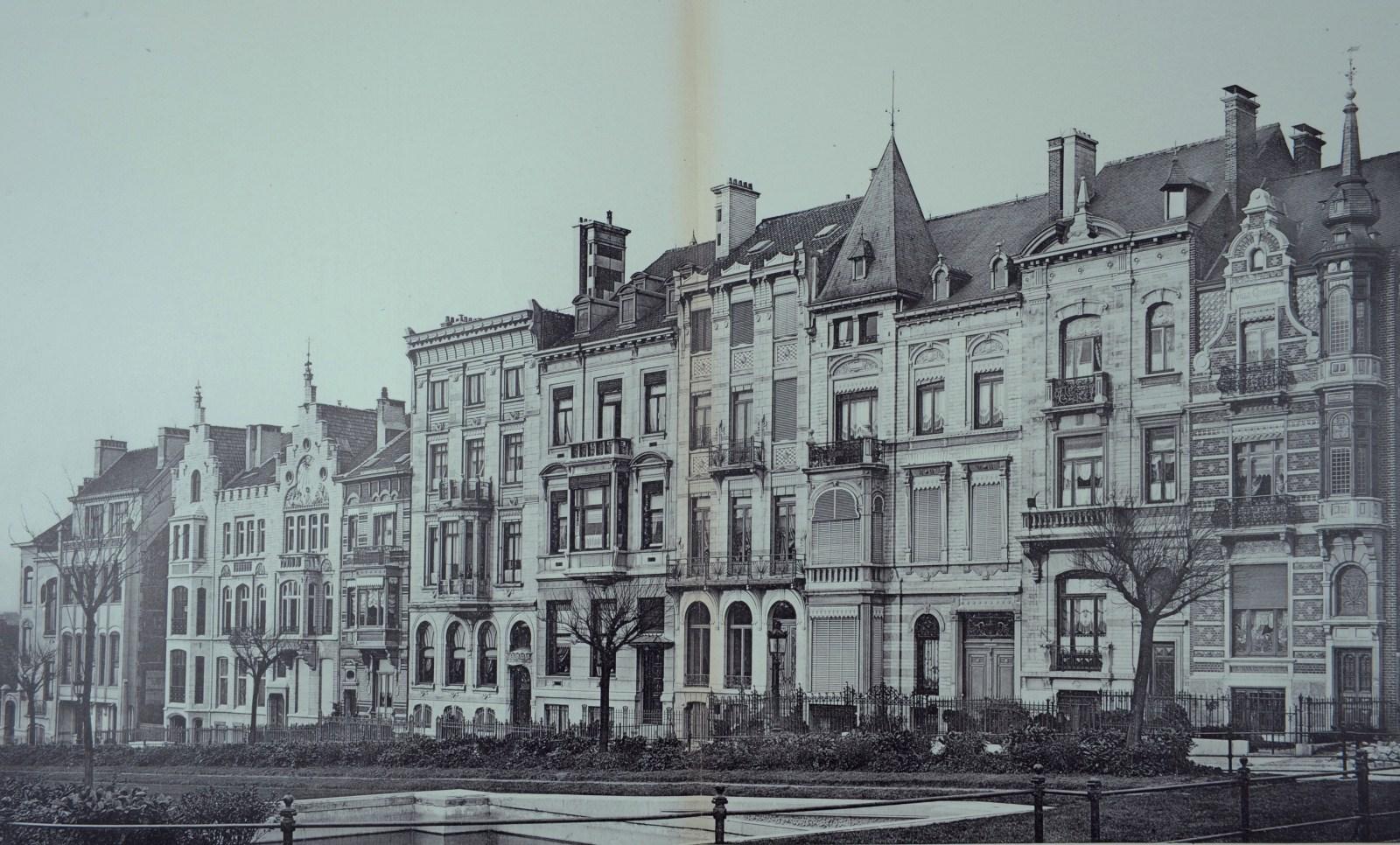 Brussel uitbreiding oost palmerstonlaan - Stijl ligstoelen anciennes ...