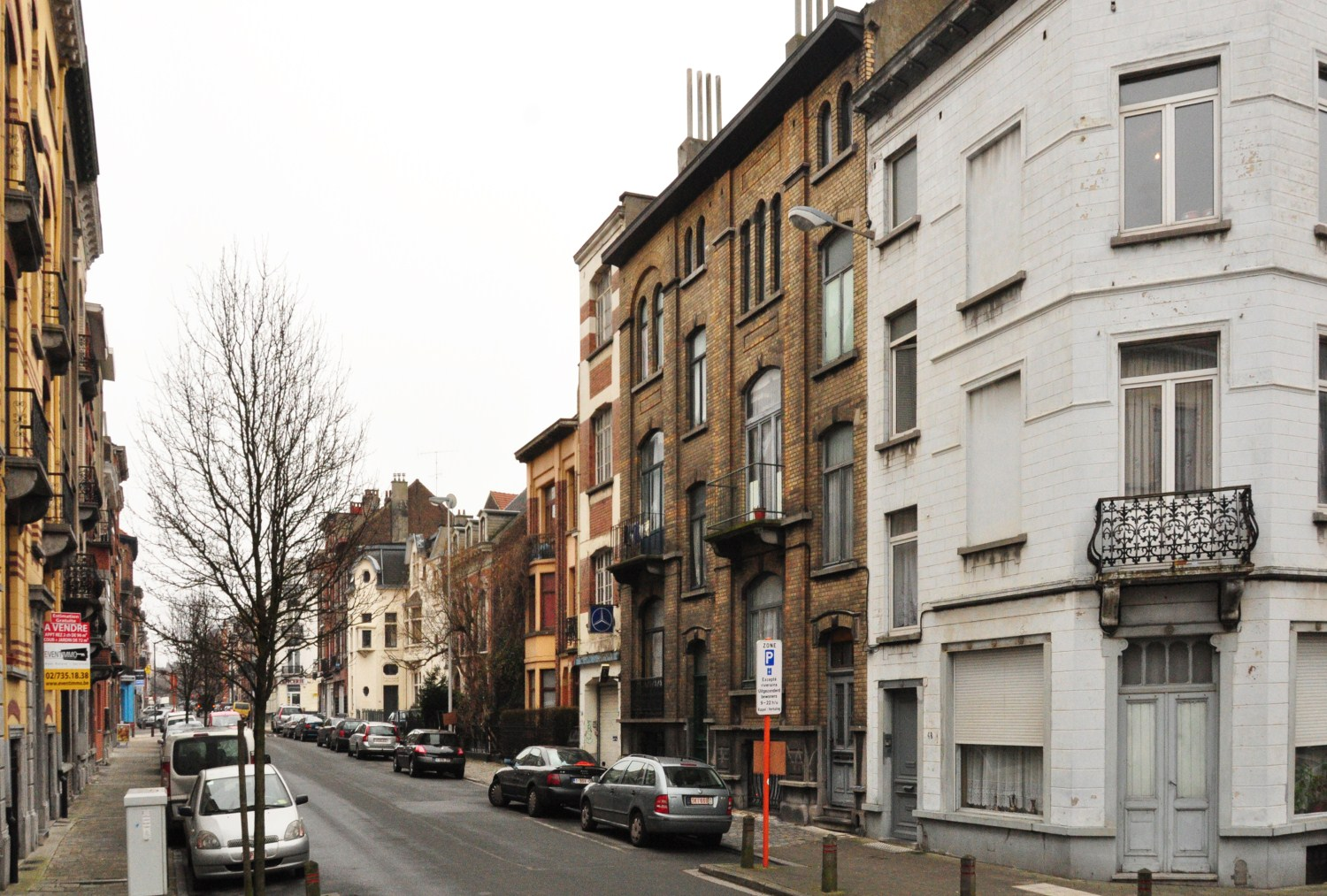 Schaerbeek rue auguste lambiotte for Auguste chabaud cote